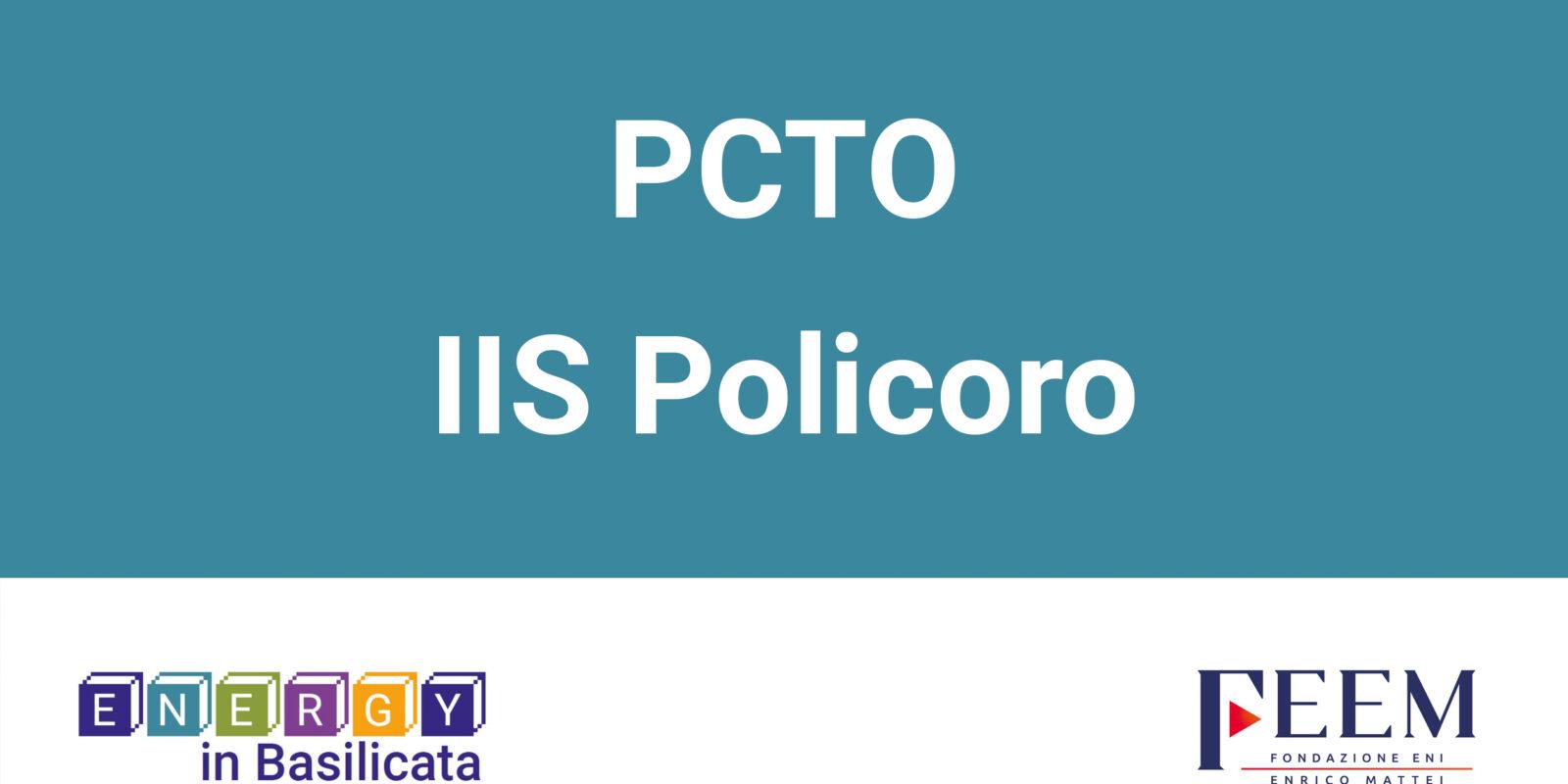 PCTO – IIS Policoro